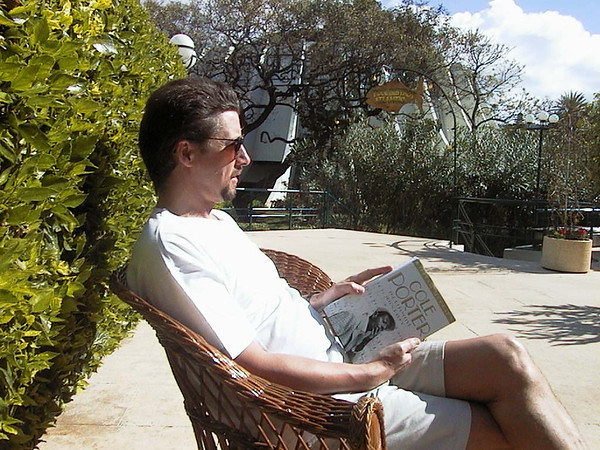 Reading in Madiera