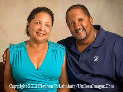 Joyce Jefferson and Royce Badger - Copyright 2014 Steve Leimberg - UnSeenImages Com A8435721