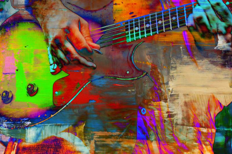 Color Guitar 3