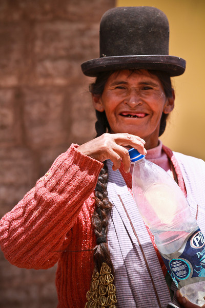 After 3 days in the country/desert/Salar, back to La Paz and the colorful people and markets.