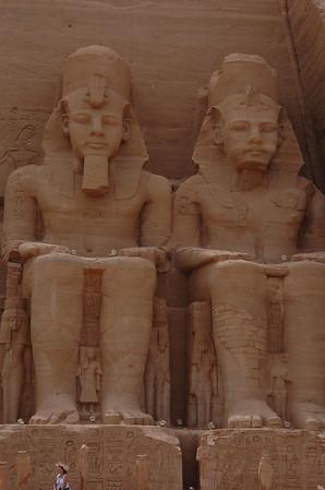 EGYPTE...  ABOU SIMBEL - ASSOUAN