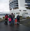 Ketchikan: Ship and travelers