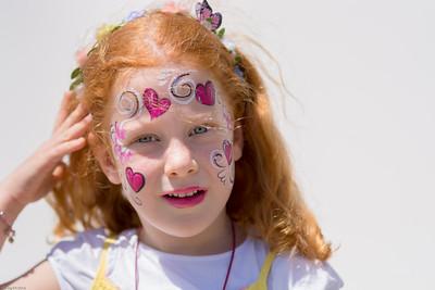 Nur Kinderschminken? / Face painting for kids only?