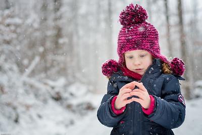 Tanzende Schneeflocken /  Dancing snowflakes