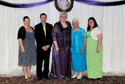 Beta Alpha - Leslie Scanell, Jim Crews, Ann Southall, Dorothy Williams, and Glorie Oxford