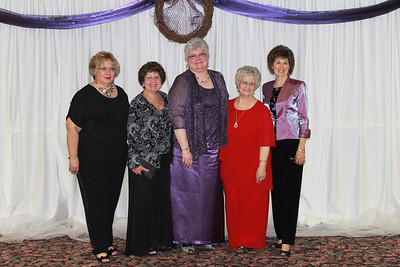Beta Omicron - Debbie Patton, Brenda Swagerty-Luper, Ann Southall, Judy Rowlan, and Joann Covington