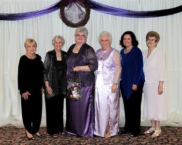 Alpha Xi - Bobbye Hinson, Pat Trinca, Ann Southall, Judy Tomlinson, Cheri Murphy, and Joanne Thompson