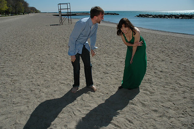 Aaron Poole, Rachel Wilson, actors
