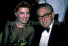 Georgette Mosbacher, former national co-chairman of John McCain's 2000 Presidential campaign, and former cosmetic manufacturer, sitting next to former U.S. Secretary of State Henry Kissinger at a New York party on 2 May 1992.<br /> File No. 020592 26<br /> ©RLLord<br /> fishinfo@guernsey.net