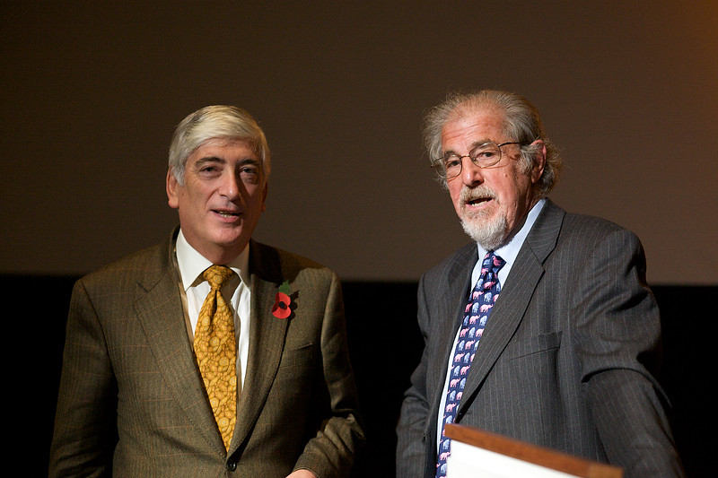 Sir Geoffrey Rowland & Prof Nicholas Day discuss Darwin 071109