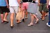 Shopping and Walking, Legs