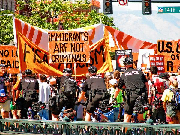 IMMIGRANTS are Not Criminals,DNC-Denver '08