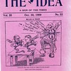 "Oct. 30, 1909 issue of ""The Idea"" (4179)"