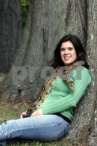 Snake & woman 2892