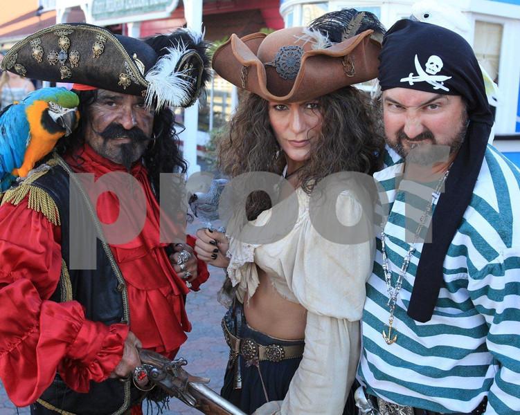 Long Beach, CA pirates 0414