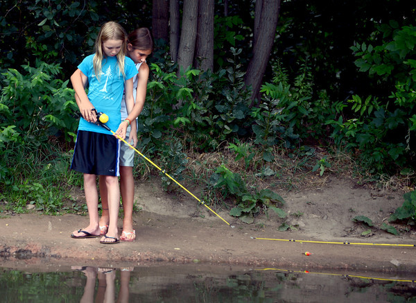 Adventures at the Kids' Fishing Pond