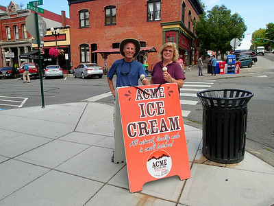 Next stop: don't need much of an excuse for Acme Ice Cream!