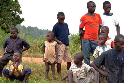 Waiting for Water, near Kigali, Rwanda, 2011