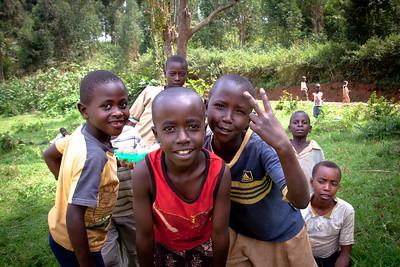 Kid are Kids everywhere, near Kigali, Rwanda 2011