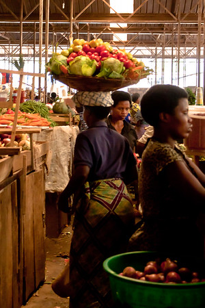 Kinoronko Market, Kigali, Rwanda, 2010