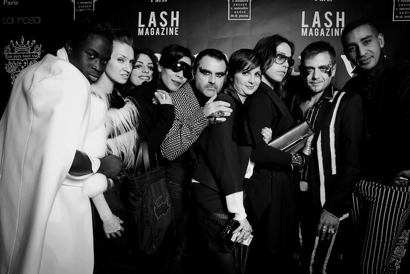 Aftershow Couture ON AURA TOUT VU at VIP Room & Lash Magazine .Haute Couture Fashion Week Paris Spring Summer 2013,France