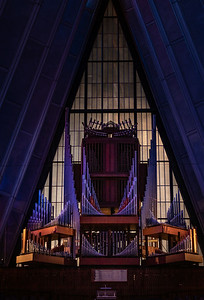 Chapel Interior and Pipe Organ