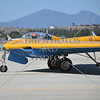 The Northrop N-9M Flying Wing taxies during an air show event at March Air Reserve Base near Moreno Valley, California.
