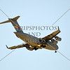 The C-17 Globemaster US Air Force military cargo aircraft flies over during the 2016 Air Show event at March Air Reserve Base near Moreno Valley, California.