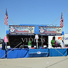 A souvenir stand during an air show event at March Air Reserve Base near Moreno Valley, California.