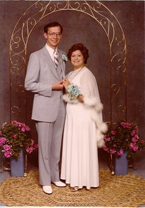 "Bob and Leticia ""Tish"" Chavez Fisher went to the Lorain High School prom in 1981 as adult chaperones less than a year after they were married."