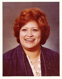 This LHS faculty picture of Leticia Chavez was taken in the 1970s before Miss Chavez became Mrs. Fischer.