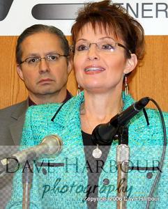 Governor Sarah Press Conference, January 16, 2009, with Press Secretary Bill McAllister