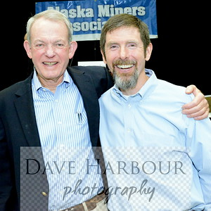 Dave Heatwole and Mike Heatwole, AMA Celebration of Mining Day (5-10-14) at 5-9-14 breakfast meeting, Photo: Copyright Dave Harbour 2014