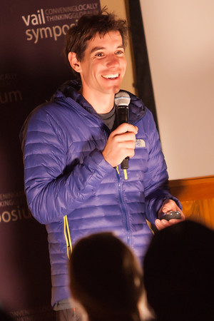 Alex Honnold - Donovan Pavilion - Vail, Colorado - January 2013