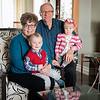 Nana and Grandpa and Grandbabies