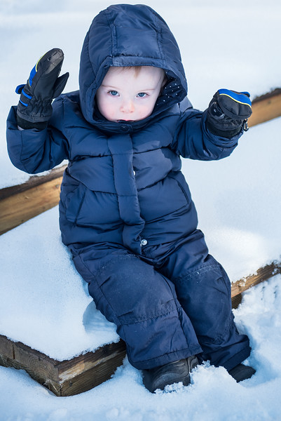 Evan and 'the Snowsuit' Situation