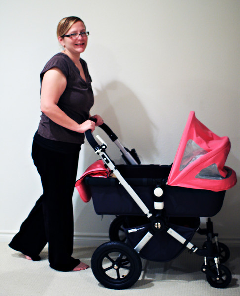 Autumn and Bugaboo Stroller