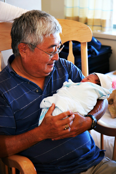 1st time with grandpa