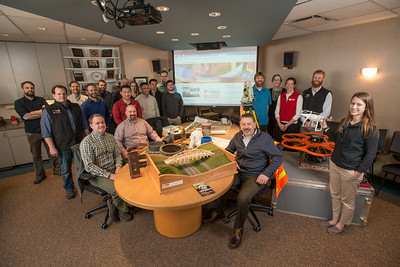 CRW Engineering Group's UAA Alums. Approximately half of the Anchorage company's employees are UAA grads.