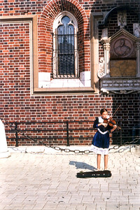 Poland violinist