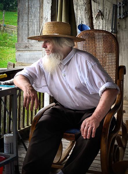 Retired Amish Farmer