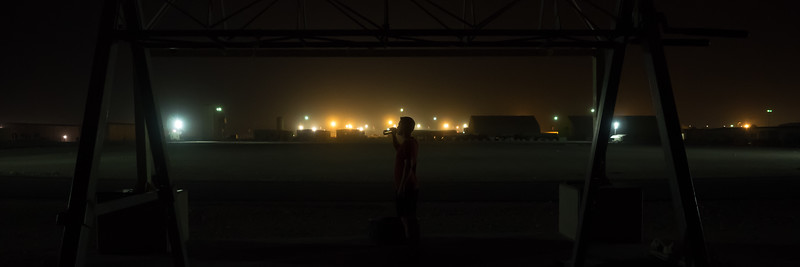 Post Exercise in Al Udeid Air Base