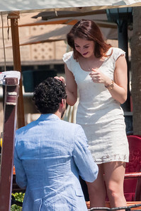 Sam: Will you marry me! Angie: Yes!