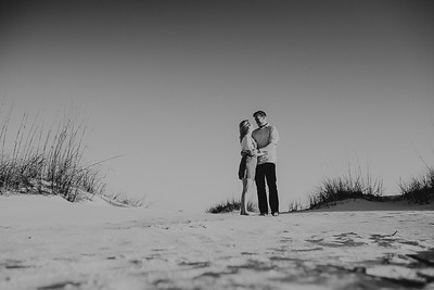 Anna Maria Island Couples Engagement Portraits At Bean Point