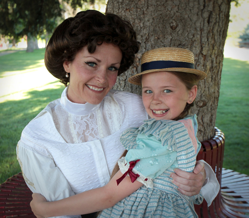 Afton Lovell and her daughter, Ellie Ericksen.