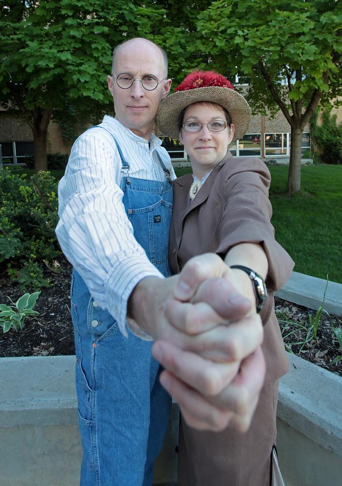 Chris and Susan Rasmussen
