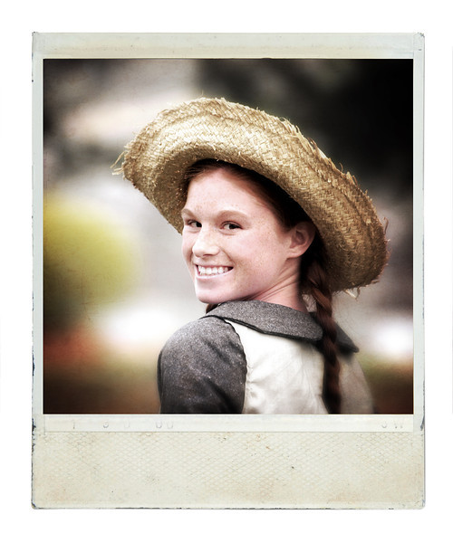 Miranda O'Very plays Anne Shirley, aka Anne of Green Gables.