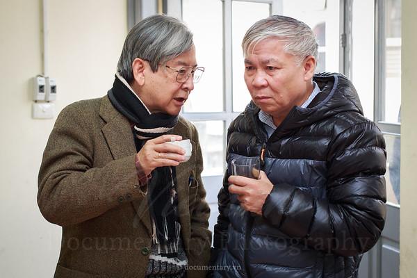 GS Đinh Văn Đức và GS Trần Ngọc Vương