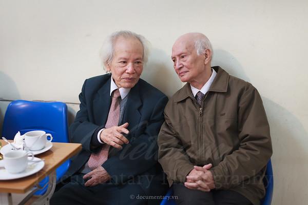 GS Đinh Xuân Lâm và GS Nguyễn Kim Đính