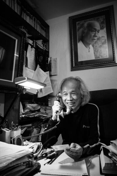 Le Mau Han, professor